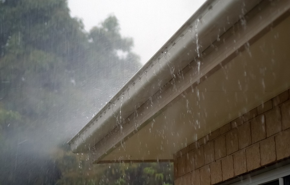 gutter over flowing